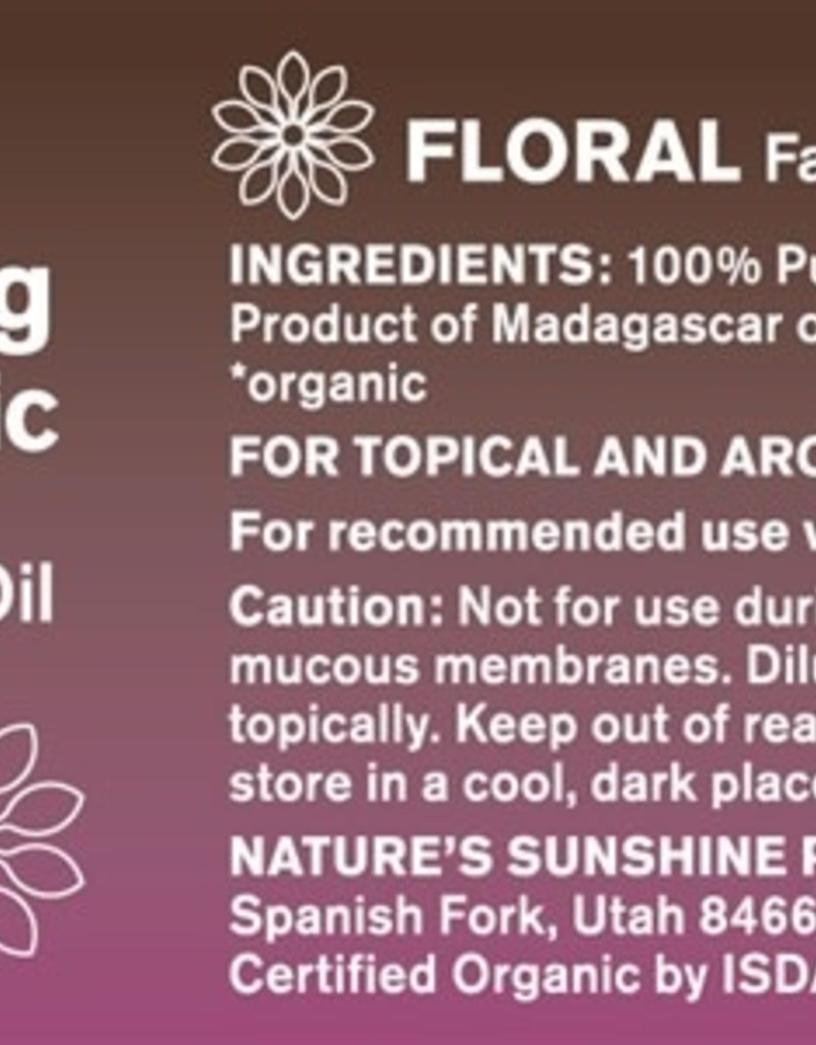 Nature's Sunshine Ylang Ylang Oil