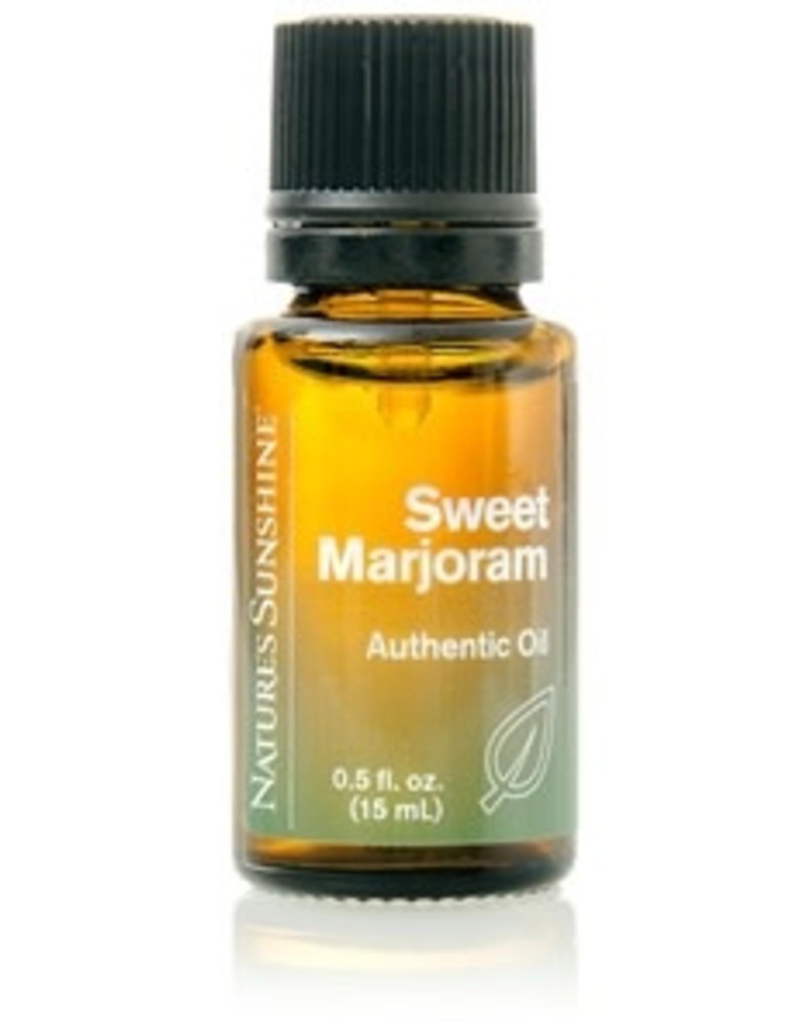Nature's Sunshine Sweet Marjoram Oil