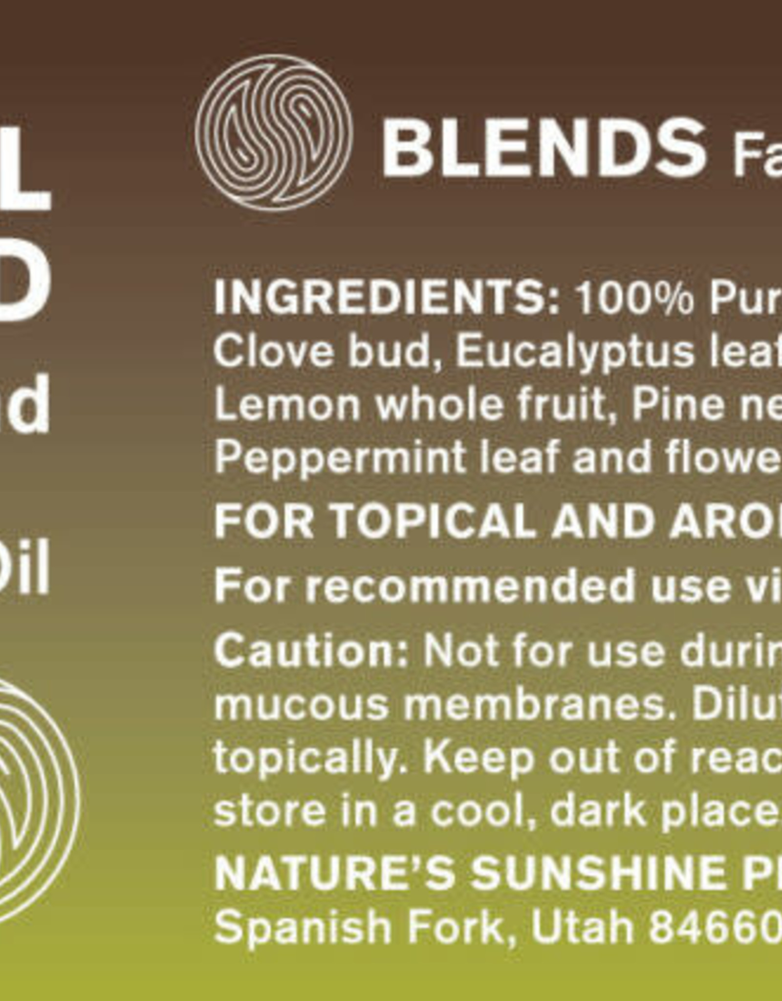Nature's Sunshine Essential Shield Oil Blend