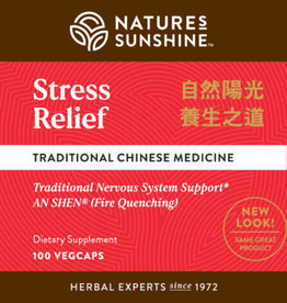 Nature's Sunshine Stress Relief (100 veg caps)
