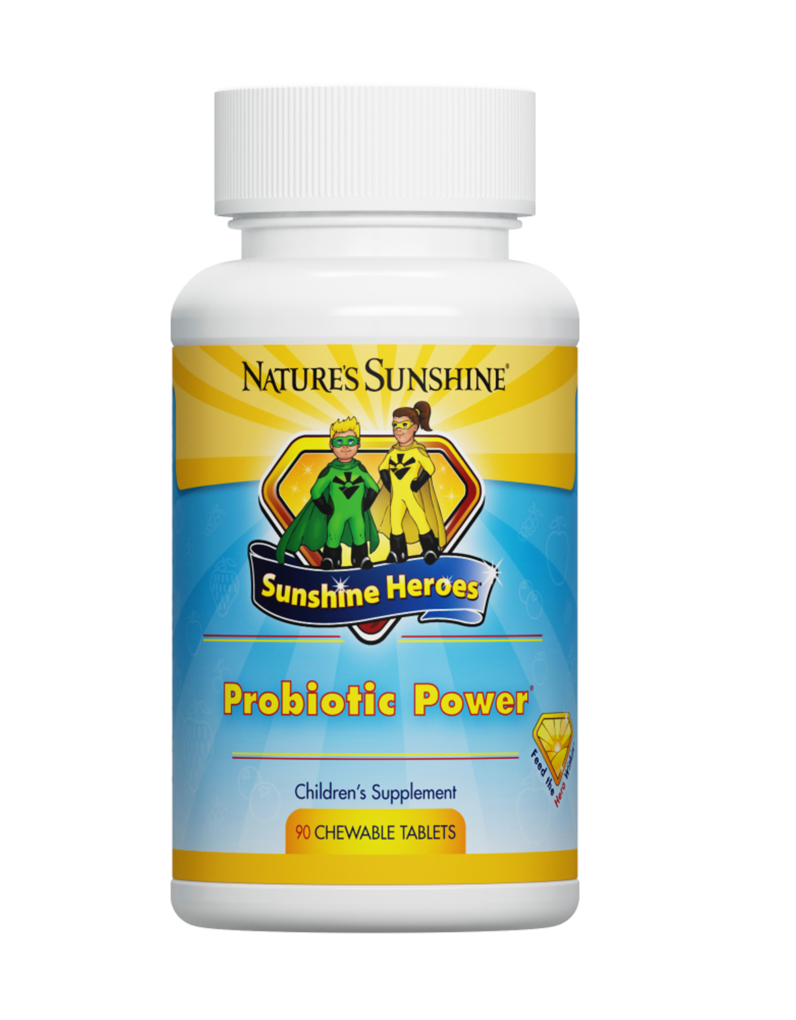 Nature's Sunshine Probiotic Power (90 chewable tablets)