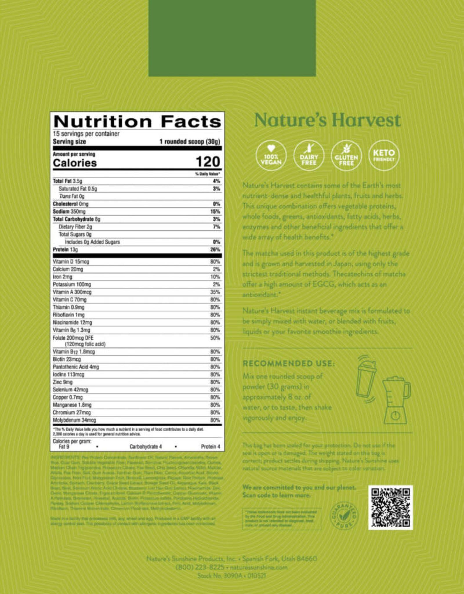 Nature's Sunshine Nature's Harvest (465 g) (15 servings)
