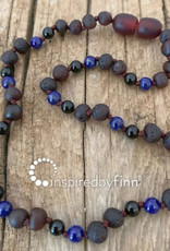Inspired by Finn Baltic Amber necklace - FocusMolasses - unpolished - 11.5-12.5