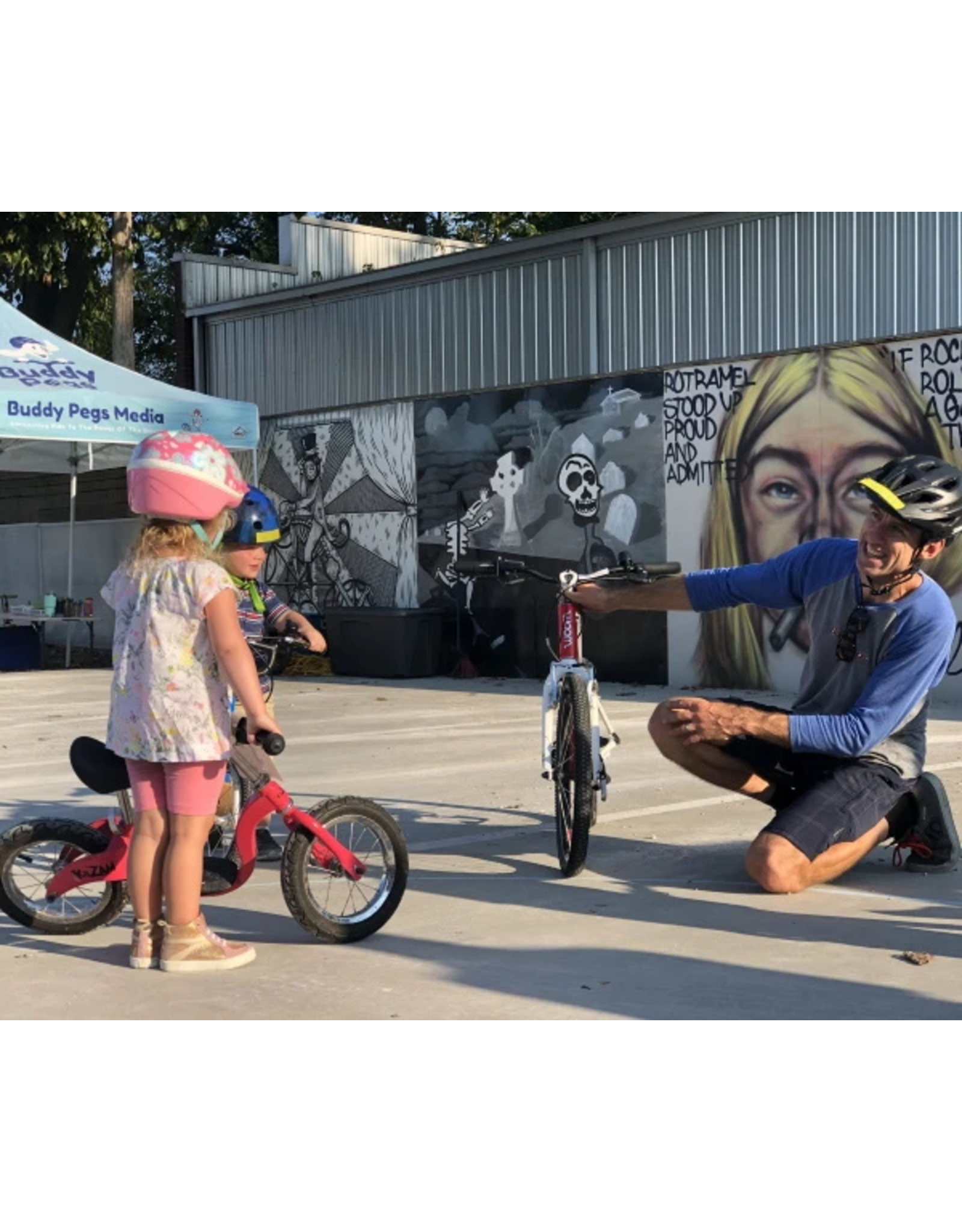 Buddy Pegs Private Lessons - LEARN TO PEDAL