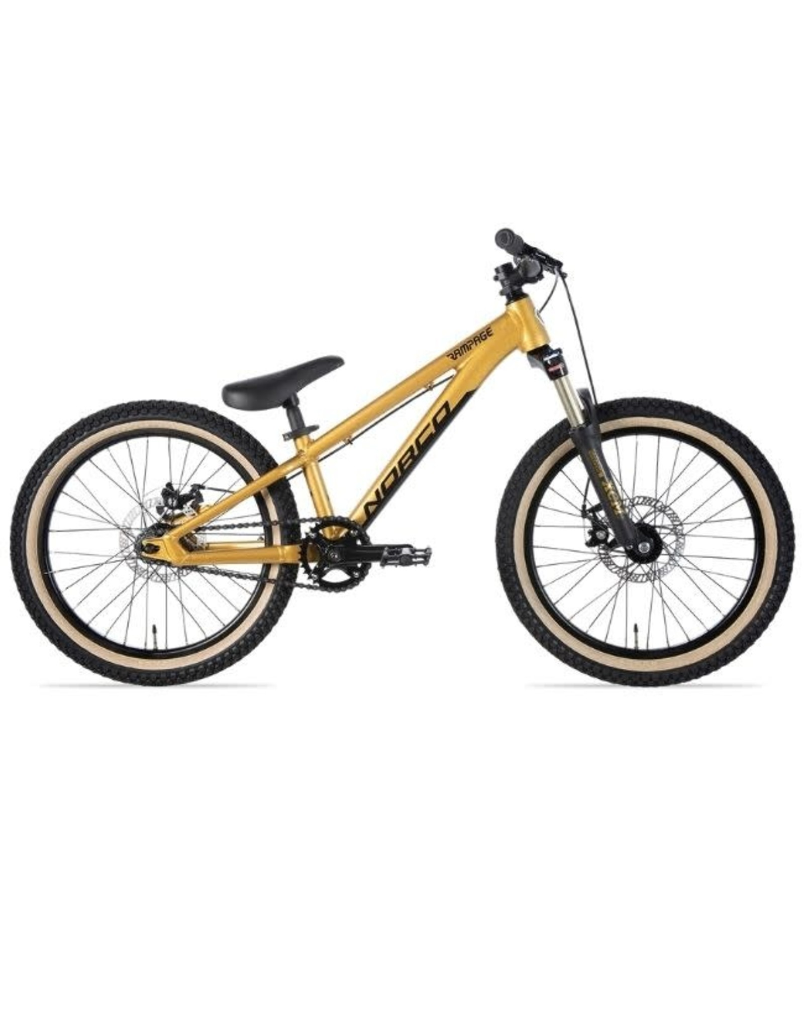 Norco NORCO RAMPAGE 2.2 S20 GOLD/BLACK