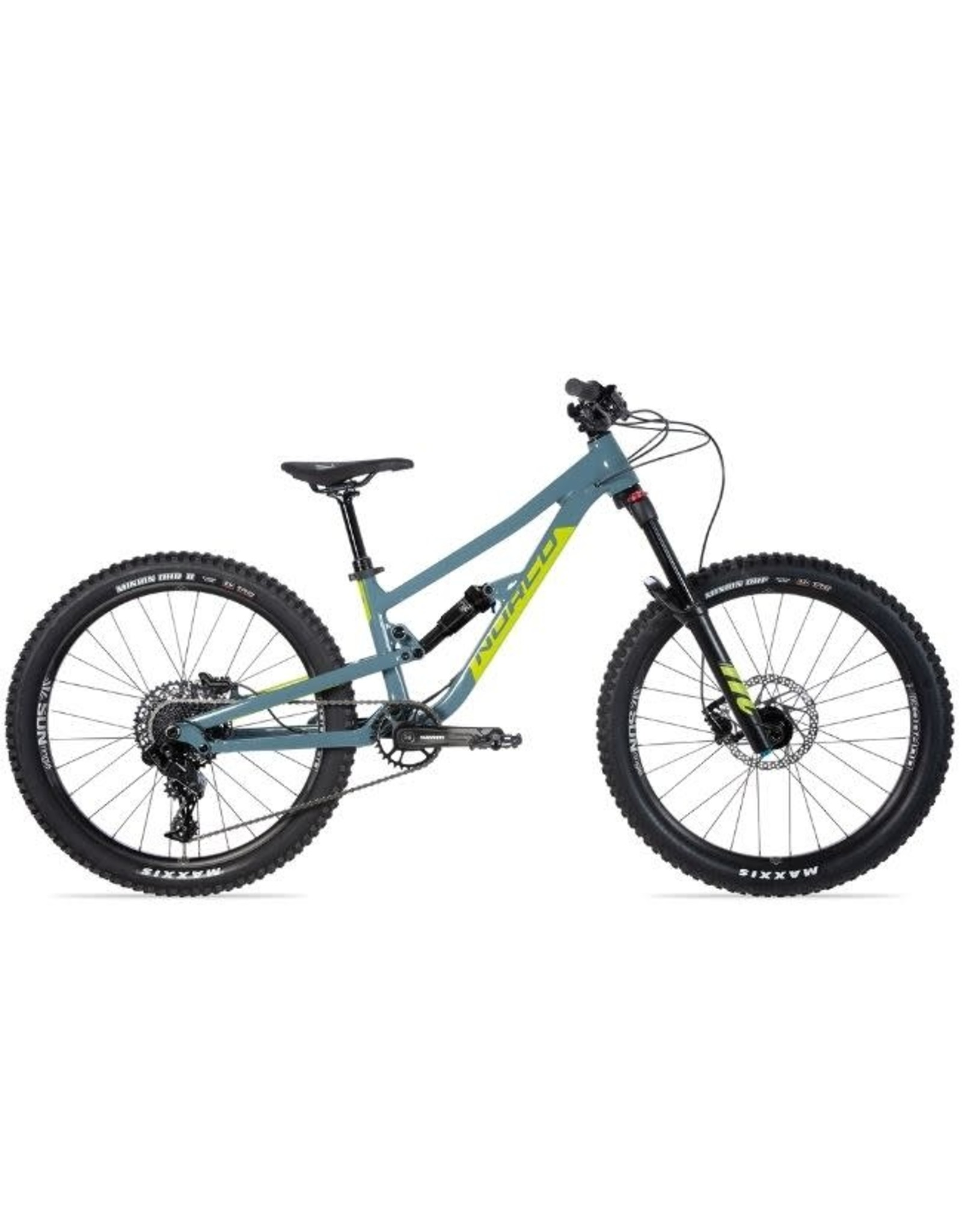 "Norco NORCO FLUID FS 4.1 S 24"" BLUE/GREEN"
