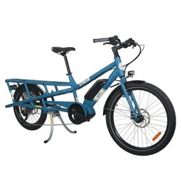 Yuba Yuba Spicy Curry Blue Yuba/ Bosch USA Mid-Drive Cargo Bike