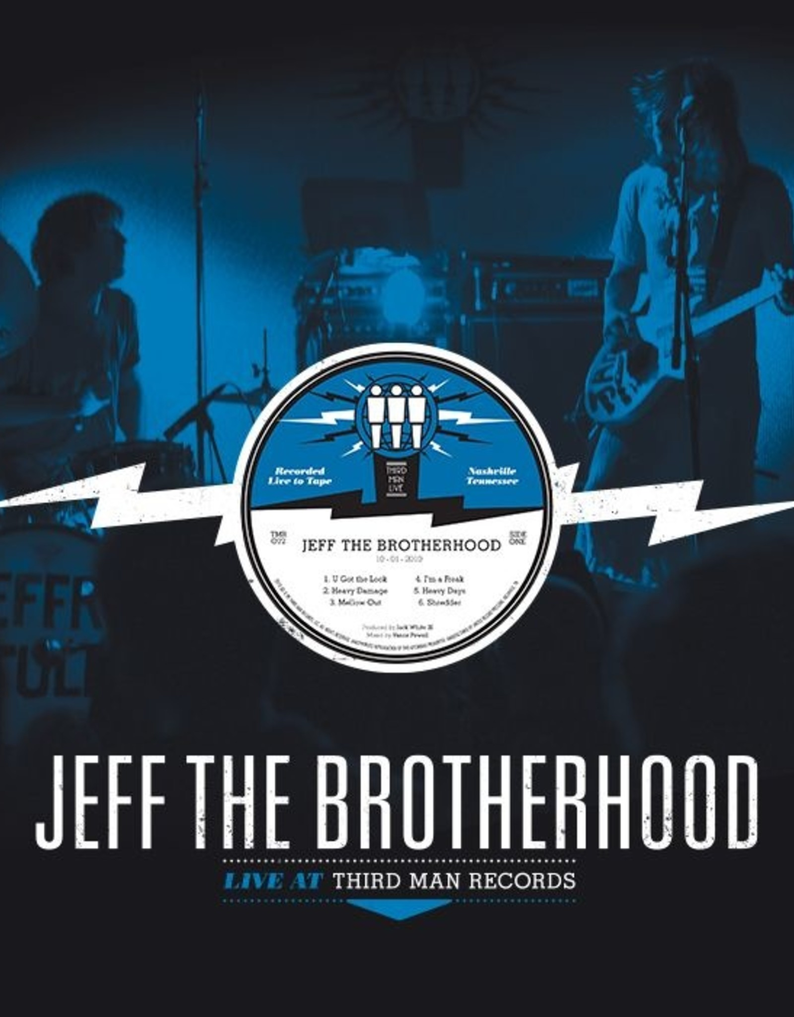 "Jeff The Brotherhood - Live At Third Man (12"" Vinyl)"