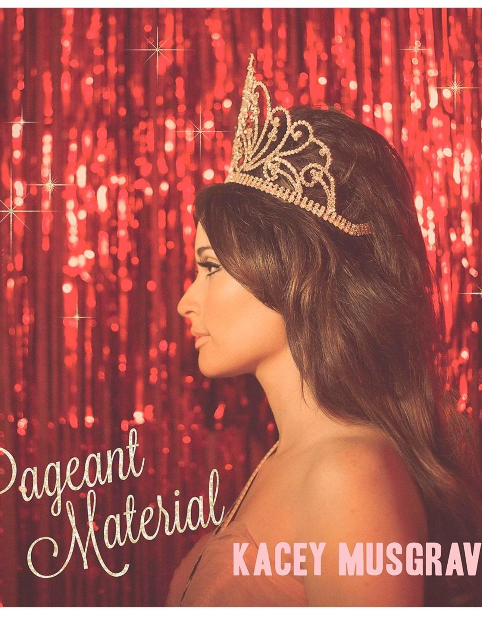Kacey Musgraves - Pageant Material (Pink/White Vinyl)