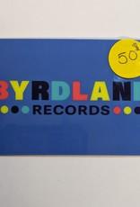 Byrdland Gift Card $50