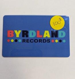 Byrdland Gift Card $100