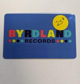 Byrdland Gift Card $25