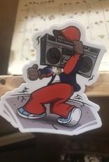 "LL Cool J ""My Radio"" Sticker"