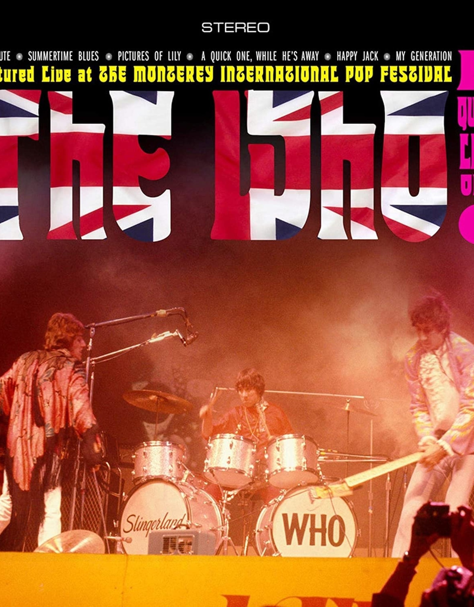 Who - Quick Live One (Red,White & Blue Striped Vinyl)  (RSD 2020)