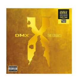 Dmx - Dmx: The Legacy (X) (Translucent Red Vinyl/2Lp) (RSD 2020 BF)
