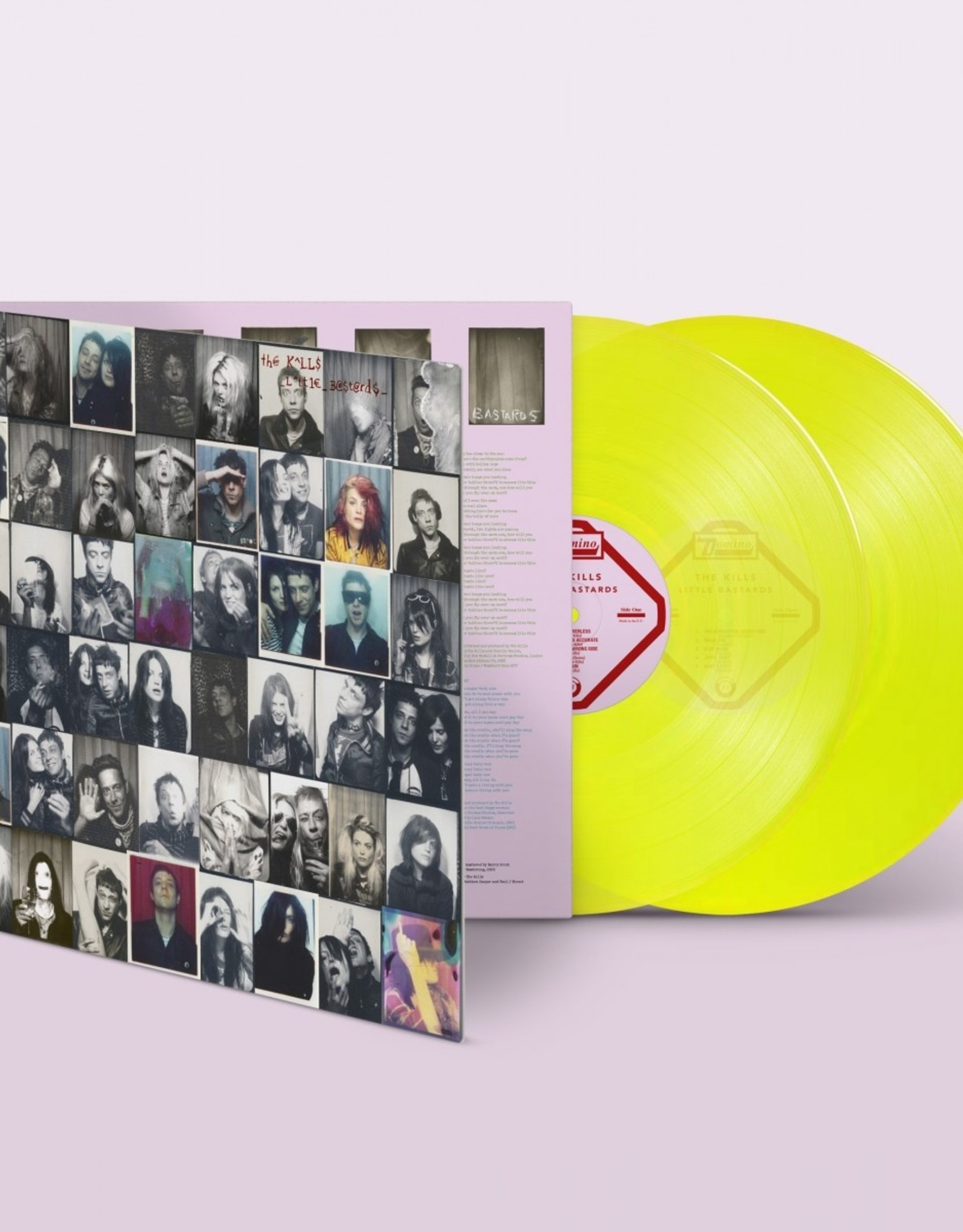 Kills - Little Bastards (Neon Yellow Vinyl)