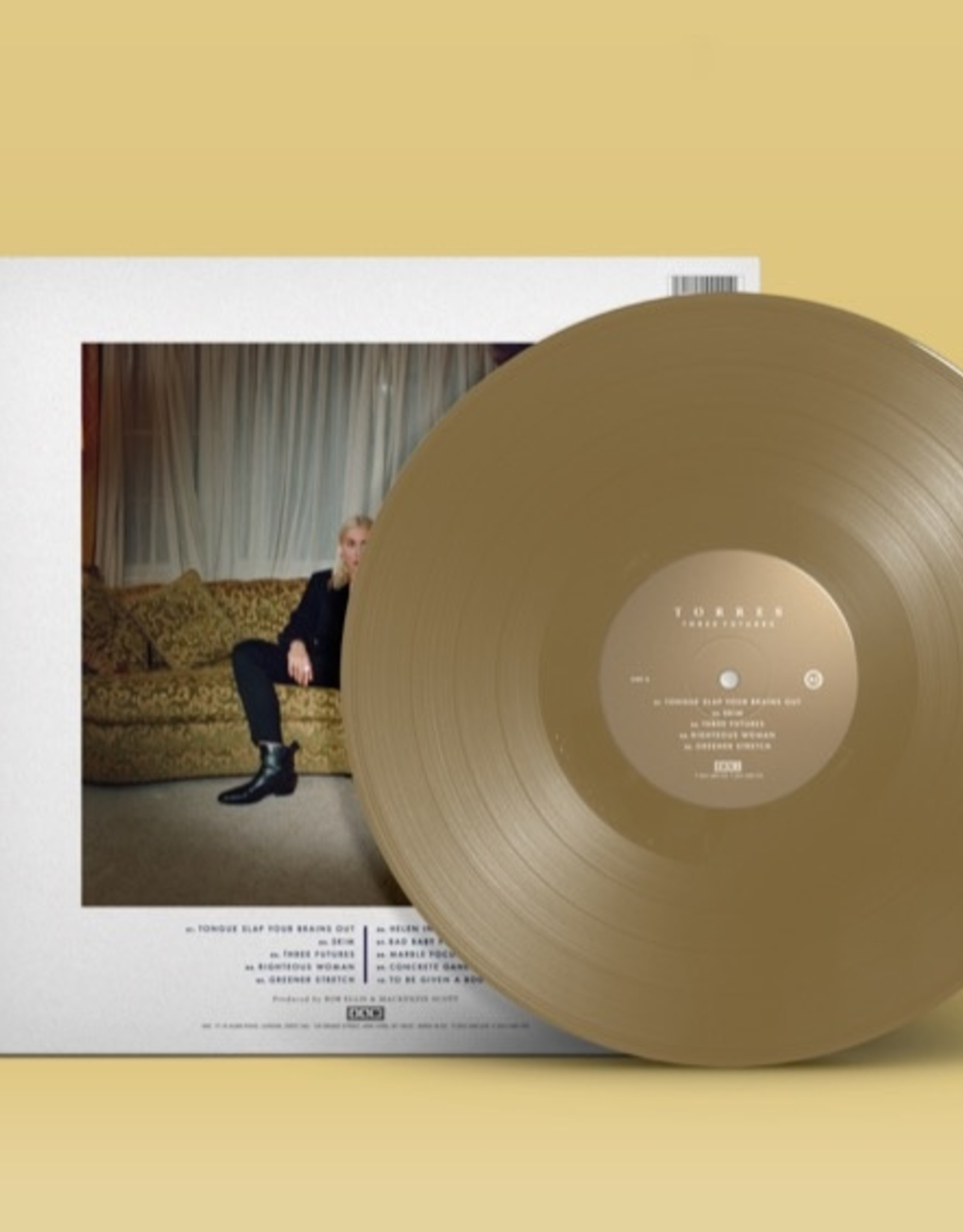 Torres - Three Futures  (Limited Gold Vinyl)