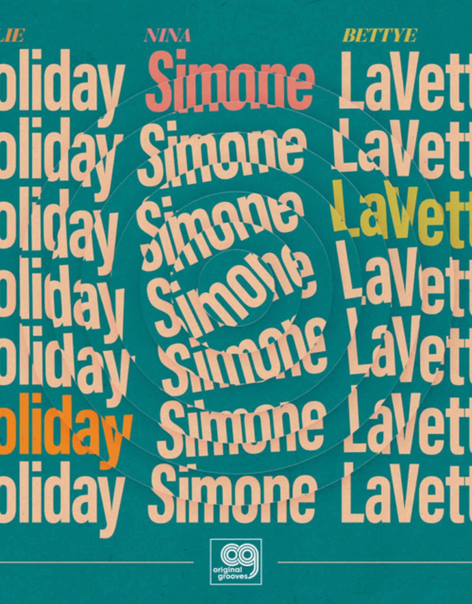 Bettye Lavette; Billie Holiday; Nina Simone - Original Grooves: Billie Holiday, Nina Simone, Bettye Lavette (Ep) (RSD 2020 BF)