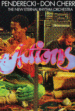 Don / New Eternal Rhythm Orch Penderecki / Cherry - Actions (Translucent Red Vinyl) (RSD 2020)