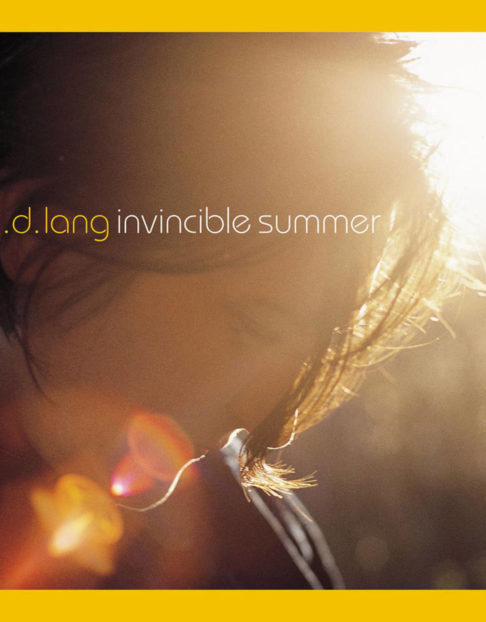 k.d. lang - Invincible Summer 20th Anniversary Edition (Yellow-Orange Vinyl)