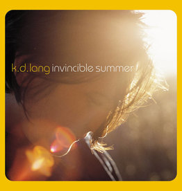k.d. lang - Invincible Summer 20th Anniversary Edition (Yellow-Orange Vinyl)