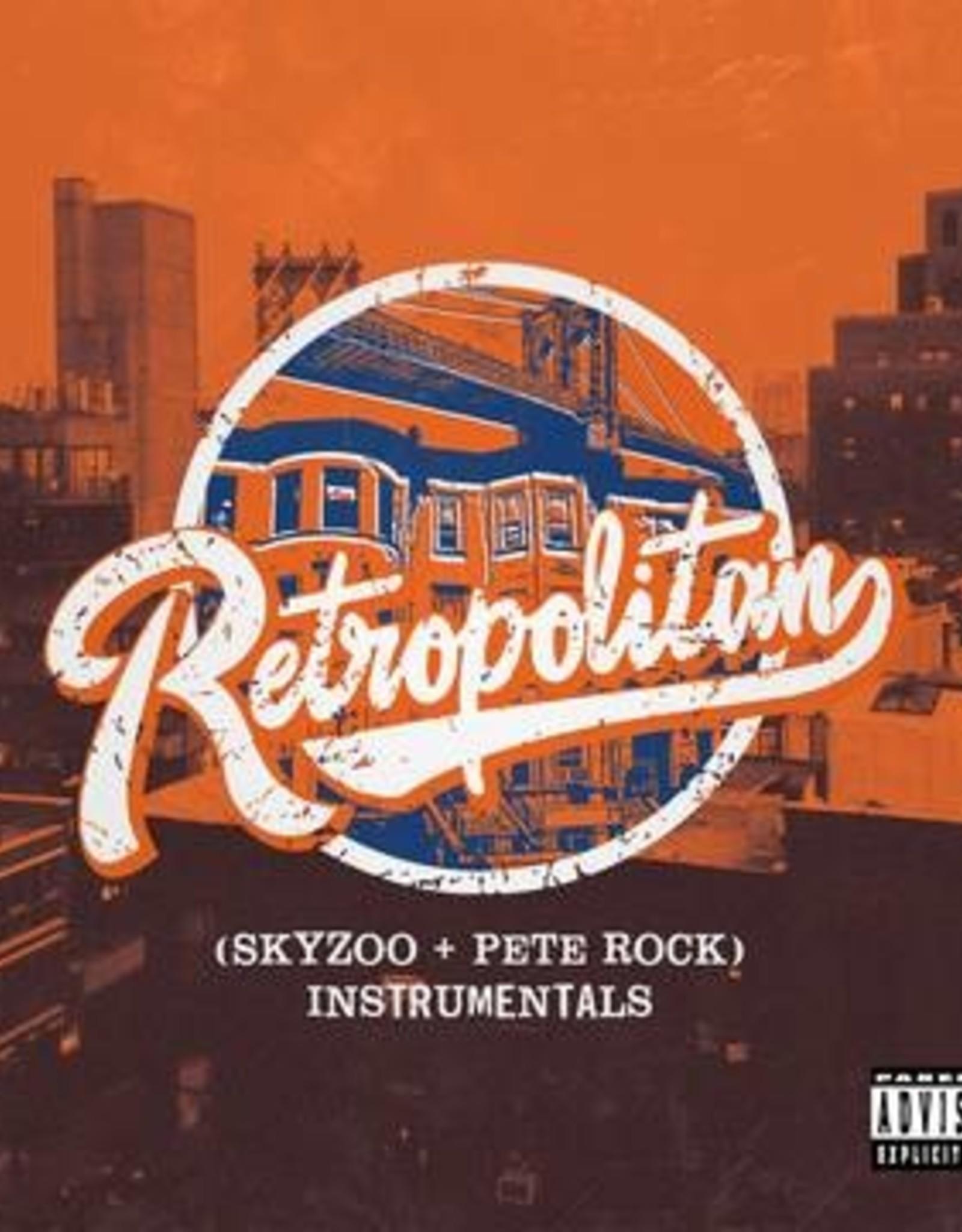 Pete Rock  /Skyzoo - Retropolitan (Instrumentals) (Clear Orange With White Heavy Splatter Vinyl) (RSD 2020)