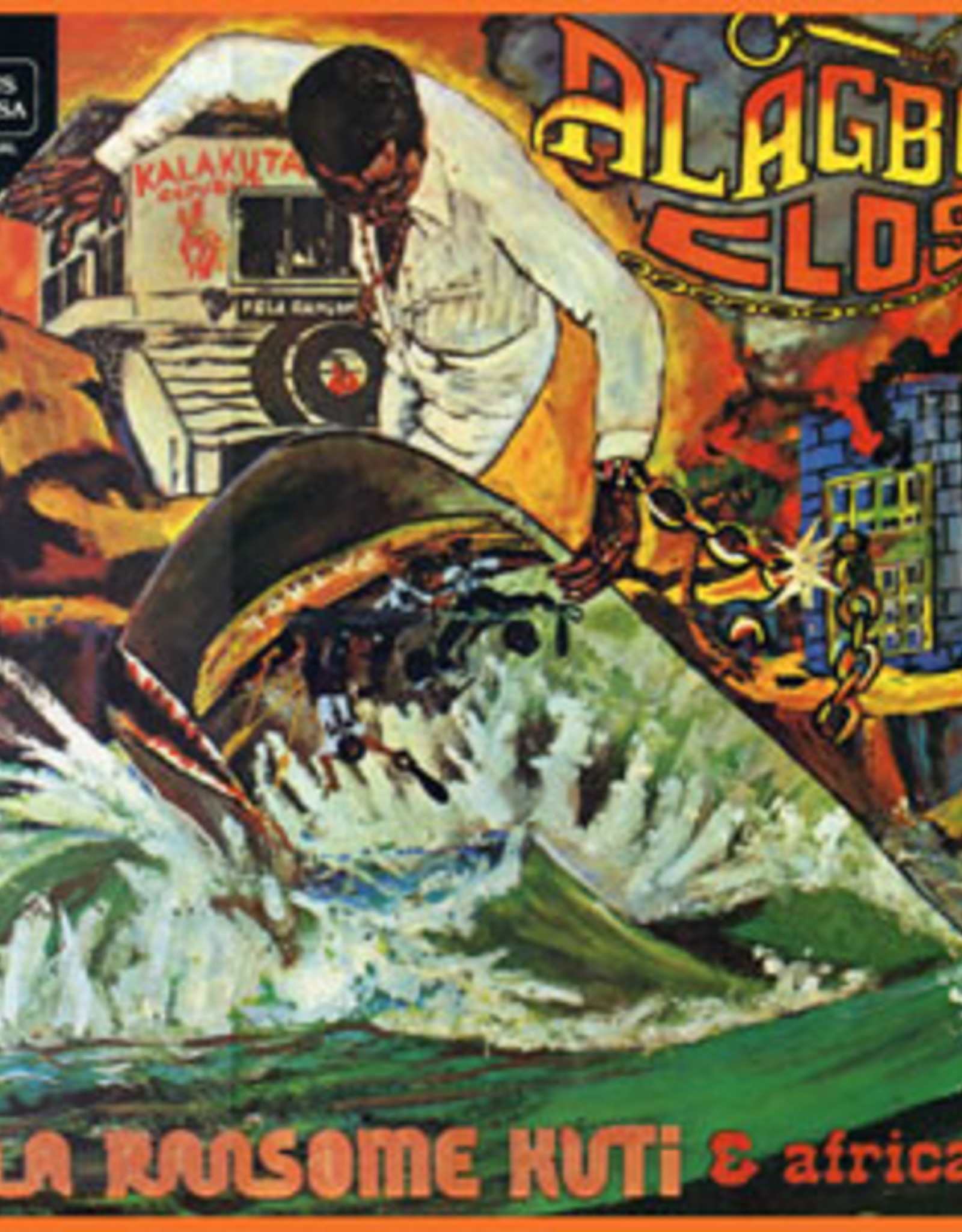 Fela Kuti - Alagbon Close (Gold Vinyl)