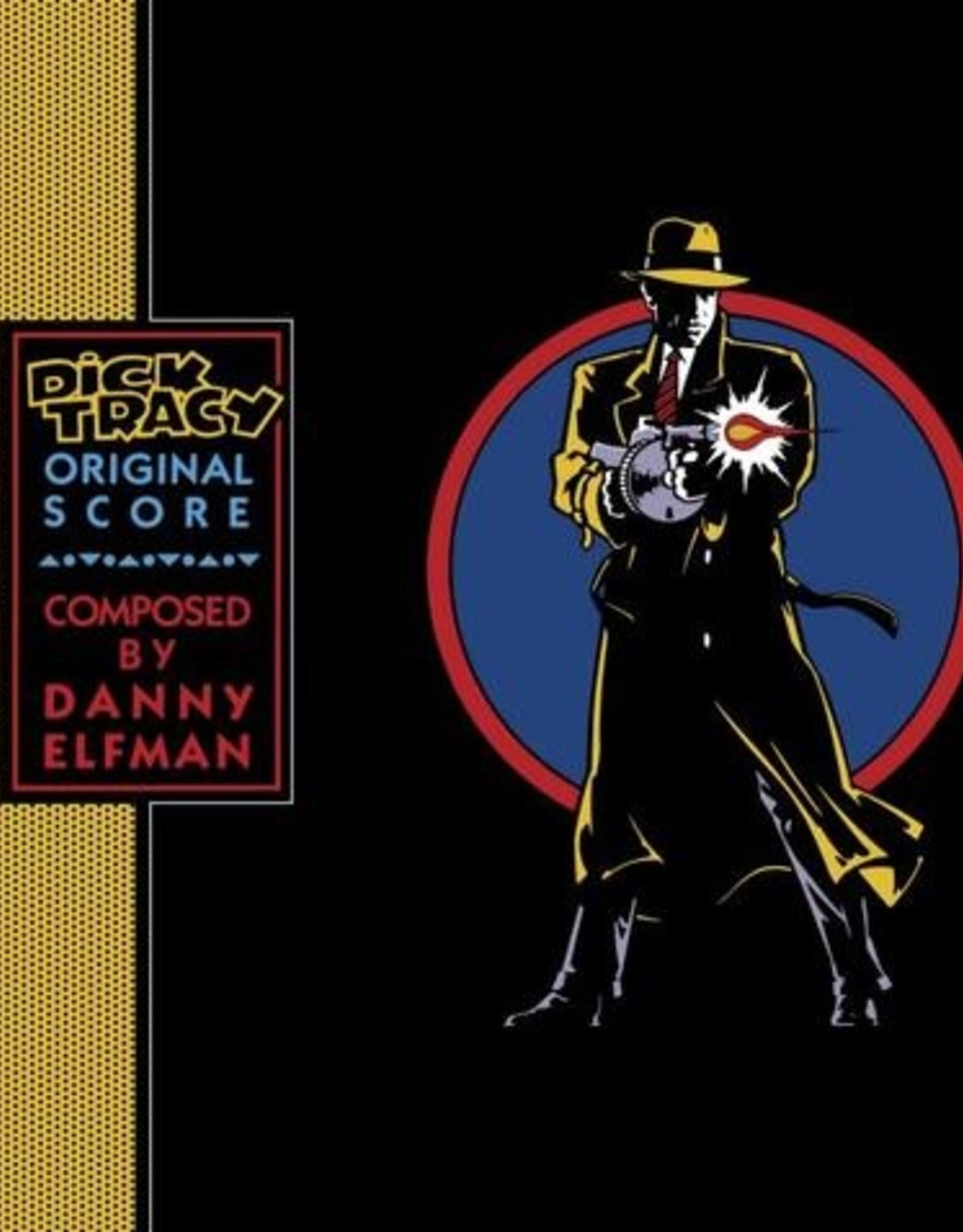 Danny Elfman - Dick Tracy (Original Score) (Colored Vinyl, Blue, Clear Vinyl)