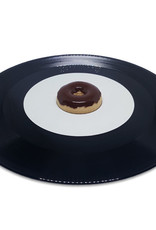 45 adapter donut chocolate glaze