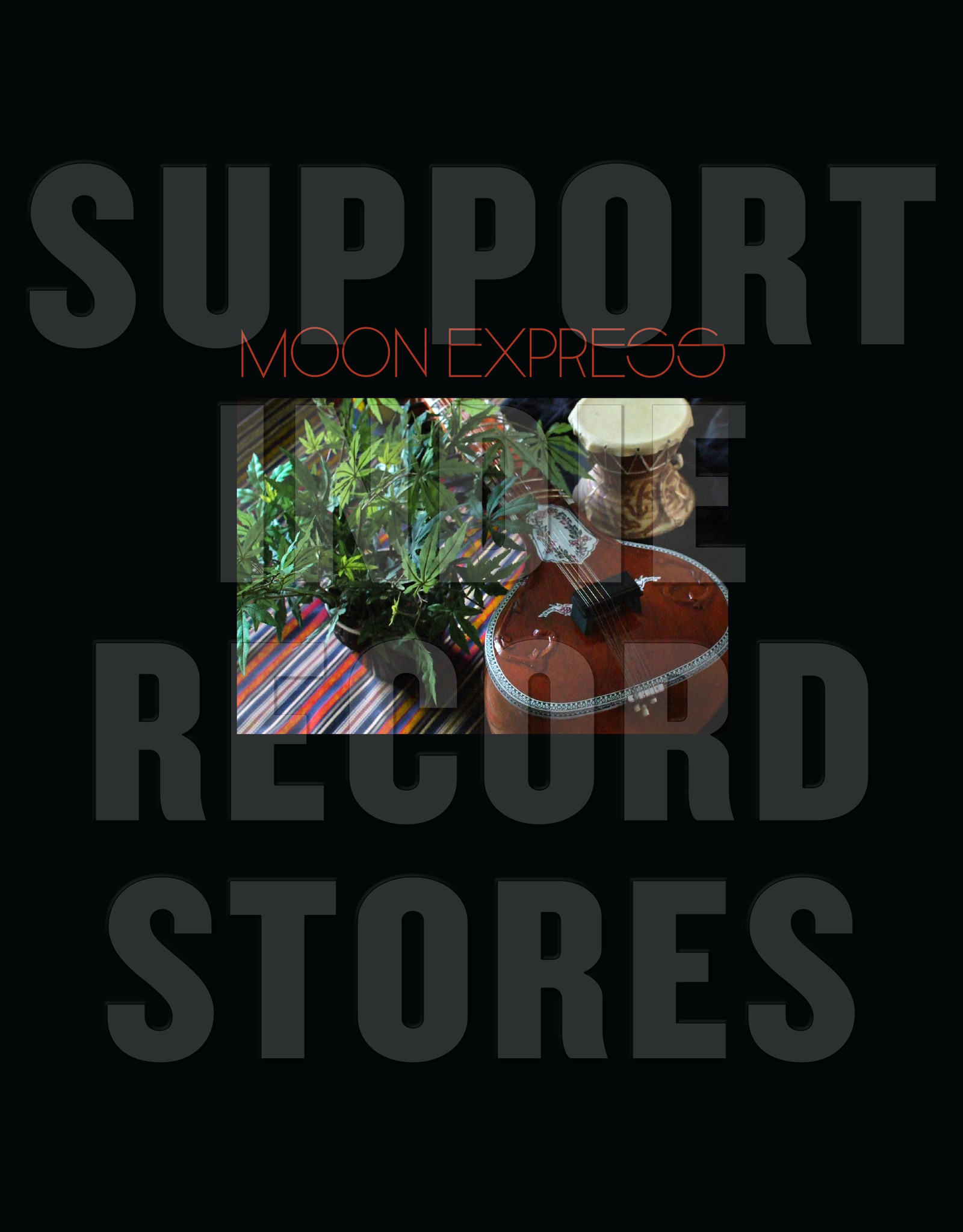 Moon Express - Prophetic Spirit (Lp & Bonus 7 Inch)(RSD 2019)