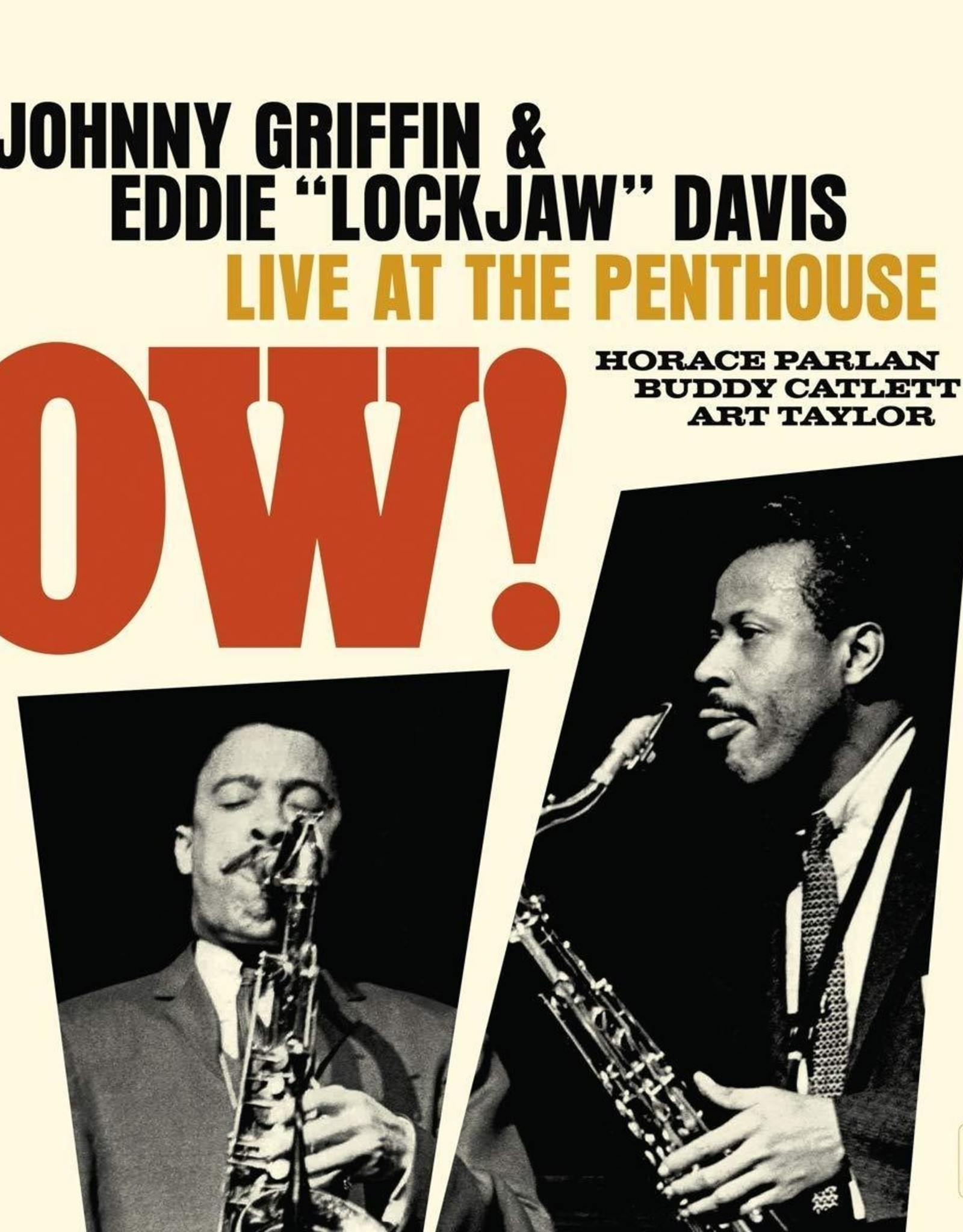 Johnny Griffin & Eddie Davis - Ow! Live At The Penthouse (1962) (180G) (Rsd 2019)