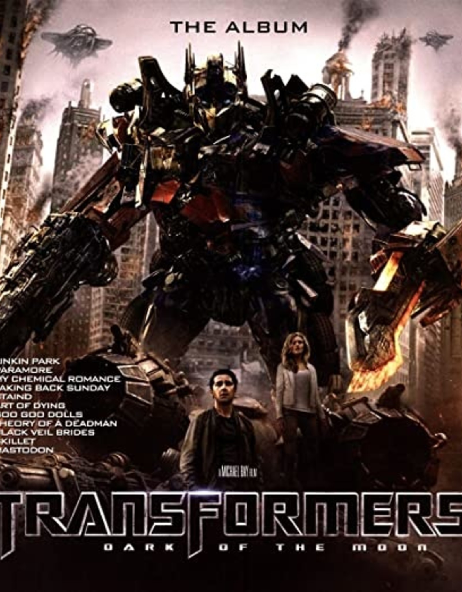 Transformers: Dark Of The Moon - Transformers Dark Of The Moon - The Album (Brown Lp) (RSD 2019)