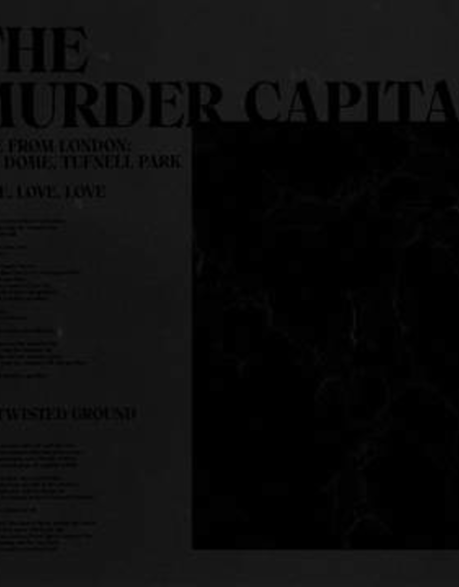Murder Capital - Live From London: The Dome, Tufnell Park (RSD 2020)