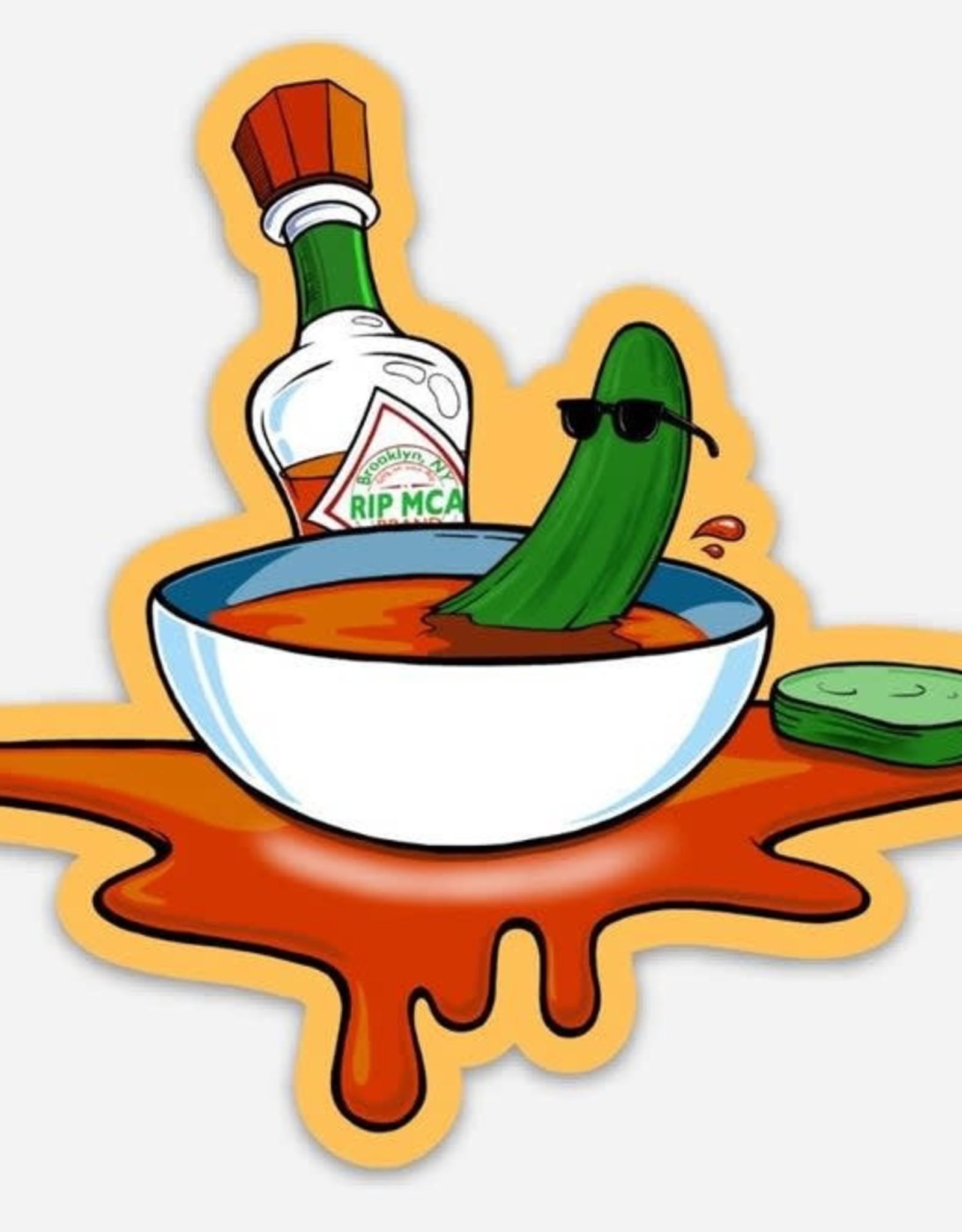 "Beastie Boys ""Cool Cucumber Sticker"" Andrew Katz"