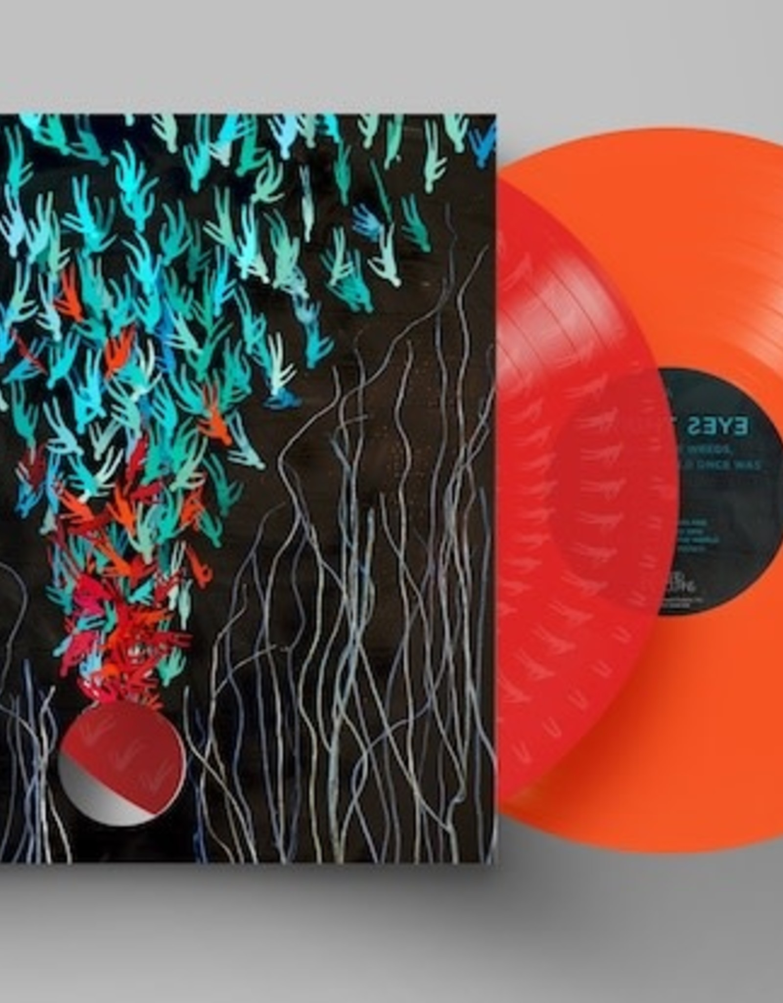 Bright Eyes - Down in the Weeds, Where the World Once Was (Retail Exclusive)-  (Transparent Red / Transparent Orange 2x Vinyl LP)