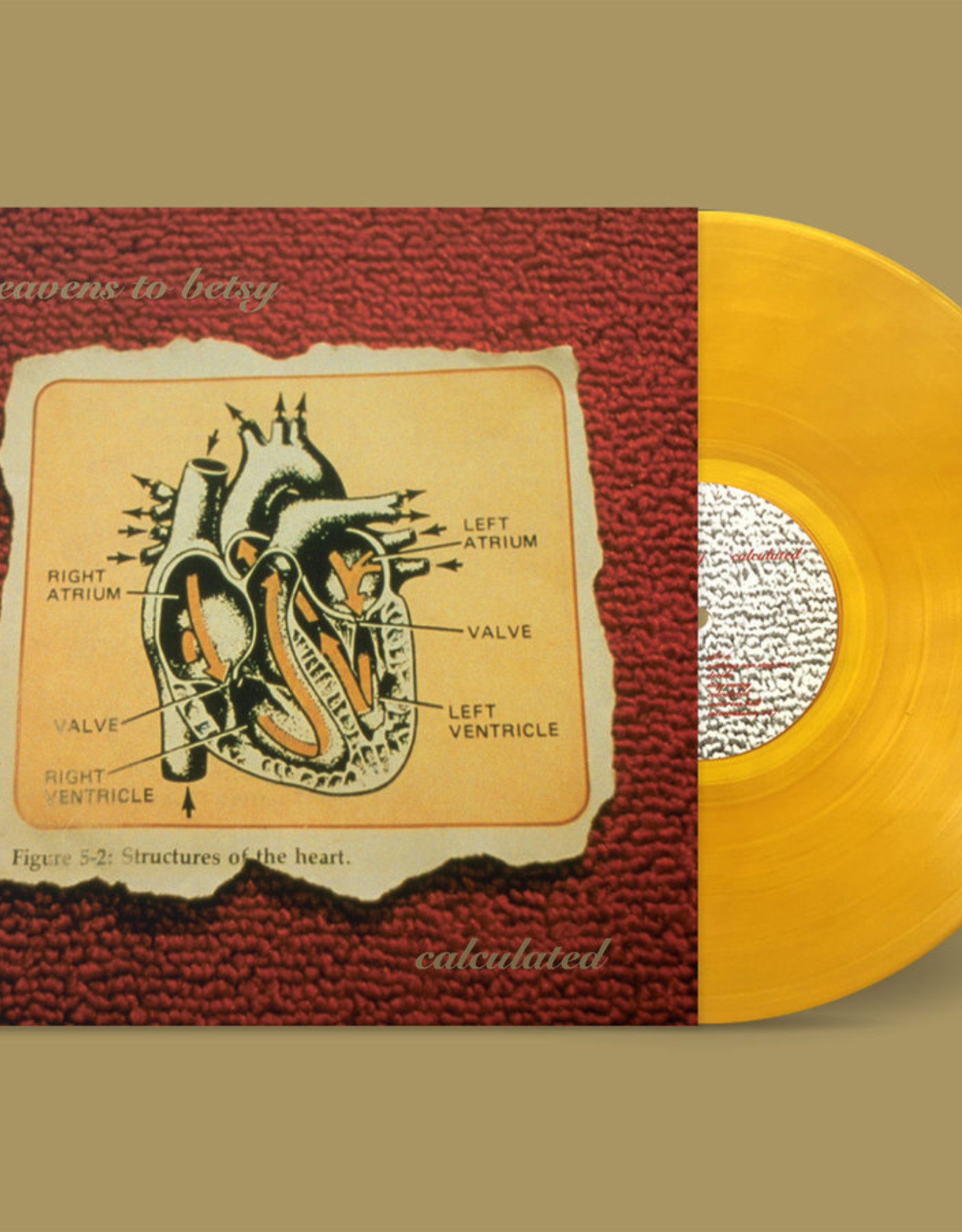 Heavens To Betsy - Calculated (Indie Only Gold Vinyl) (Vinyl)