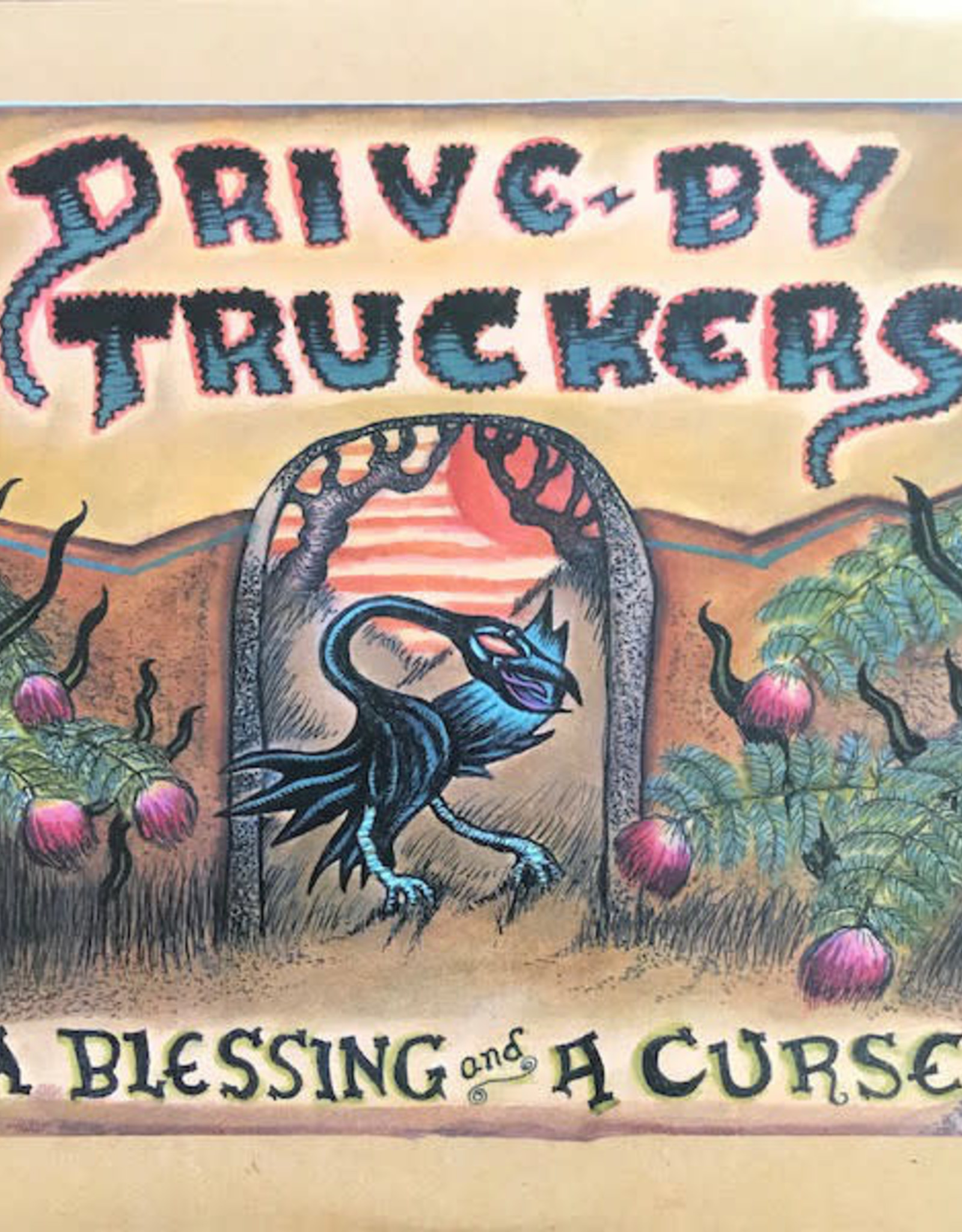 Drive-By Truckers - A Blessing And A Curse (Clear With Purple Splatter Vinyl, Limited Edition)
