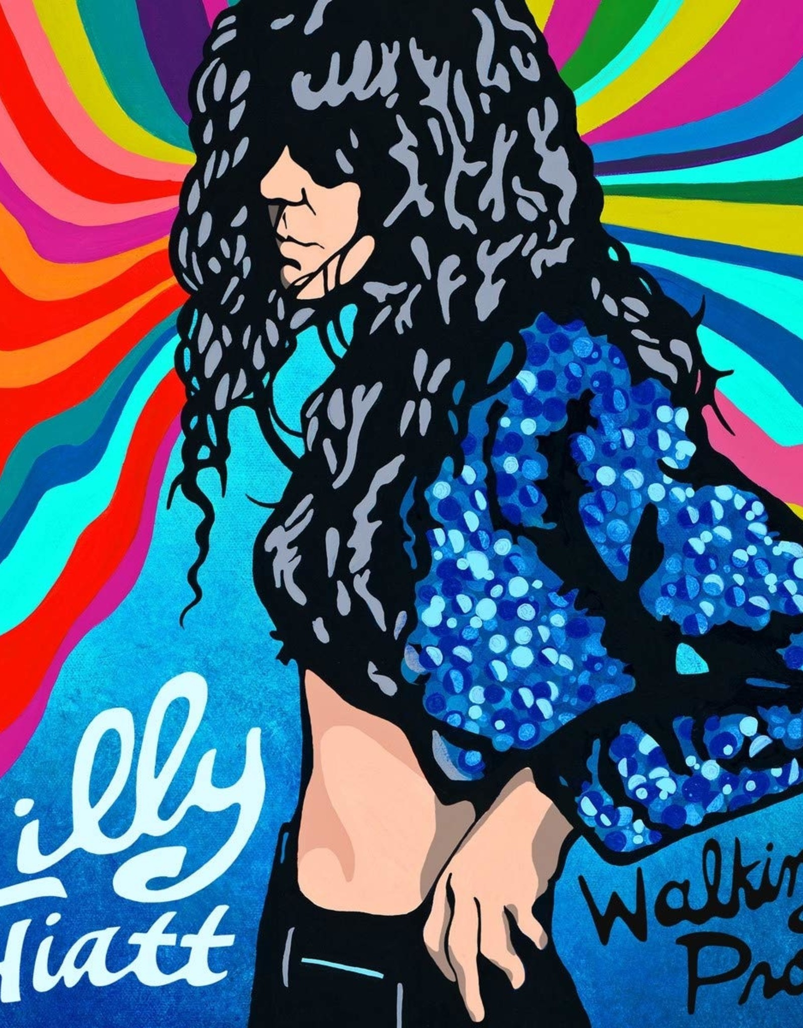 Lilly Hiatt - Walking Proof (150G/Aqua Blue/Turquoise Vinyl/Limited) (I)