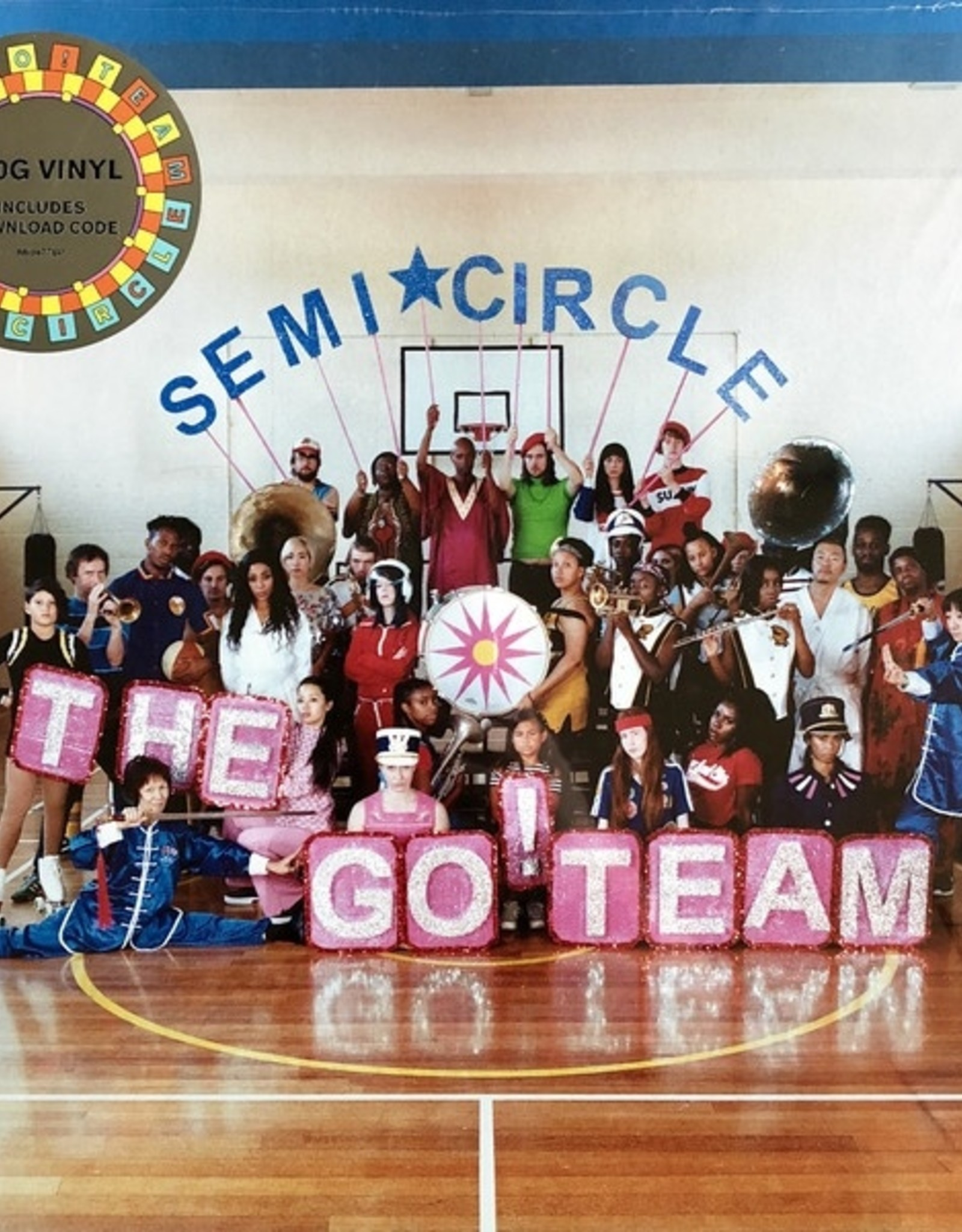 The Go! Team - Semicircle (Indie Only Pink Vinyl)