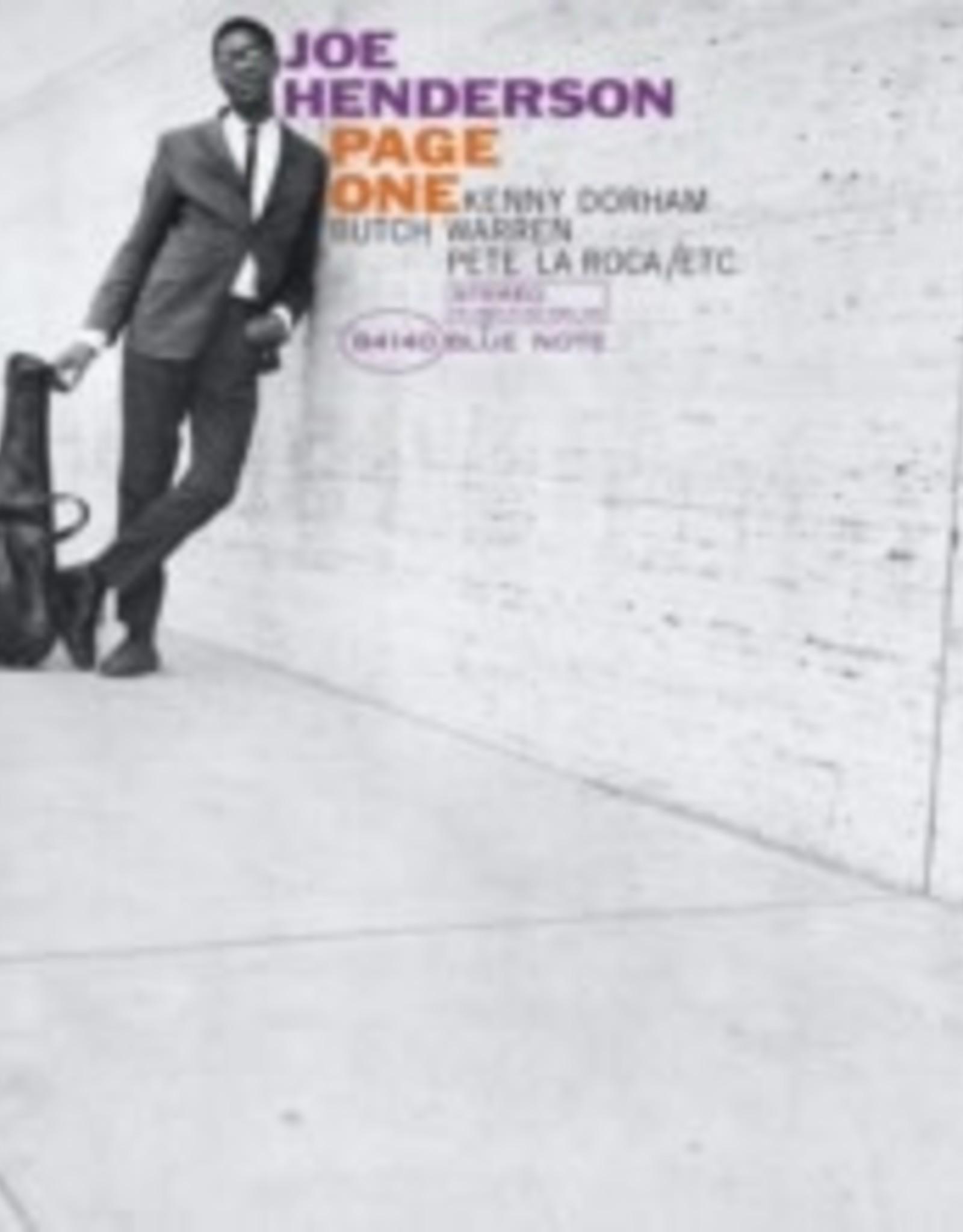Joe Henderson - Page One (Analog Master)