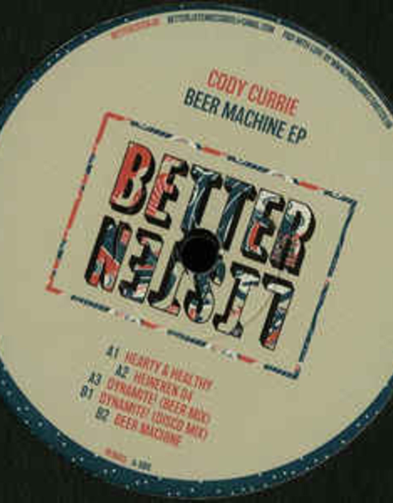 "Better Listen 3 - Cody Currie - Beer Machine Ep (12"", Ep)"