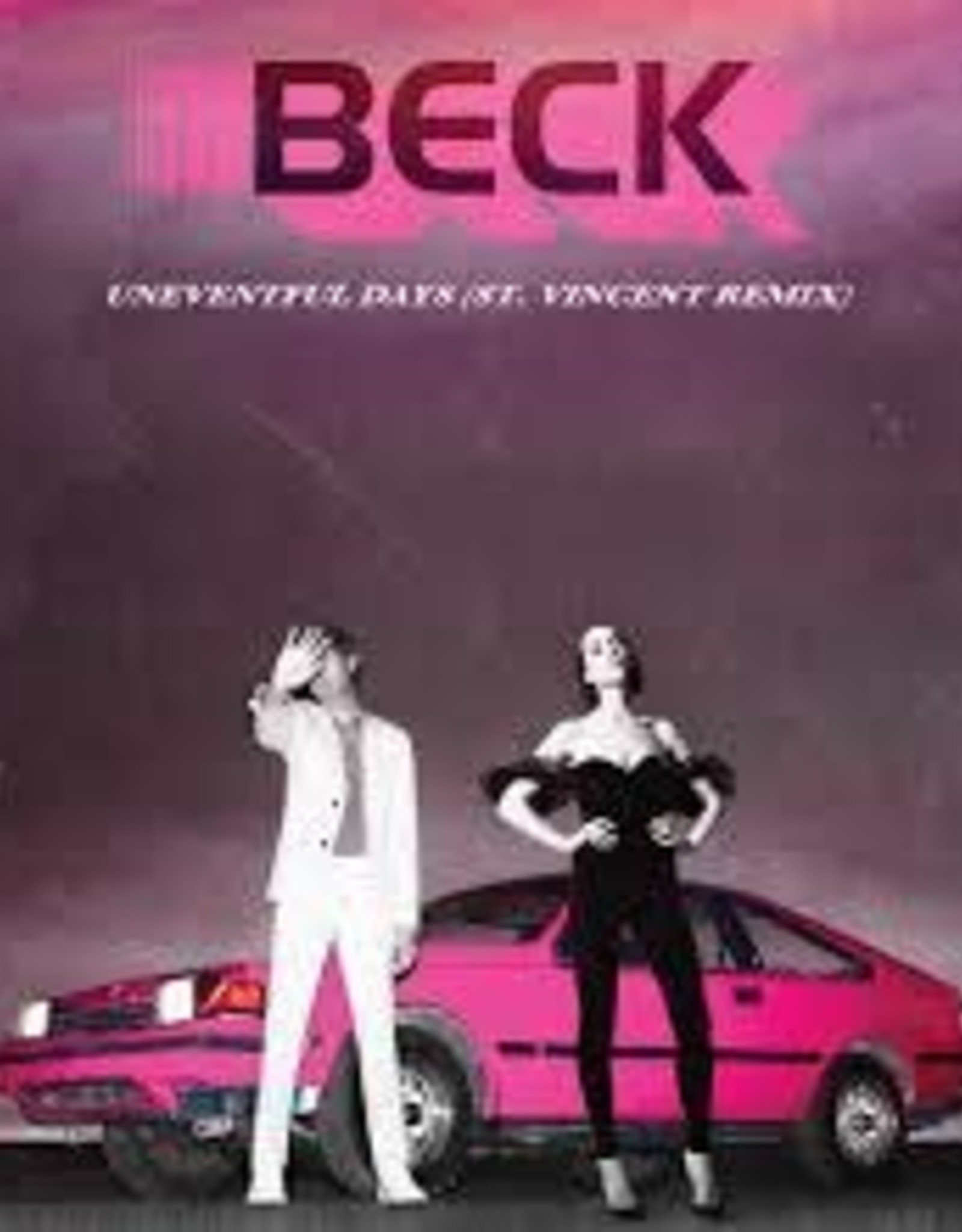 Beck - No Distraction / Uneventful Days (Remixes)  Single