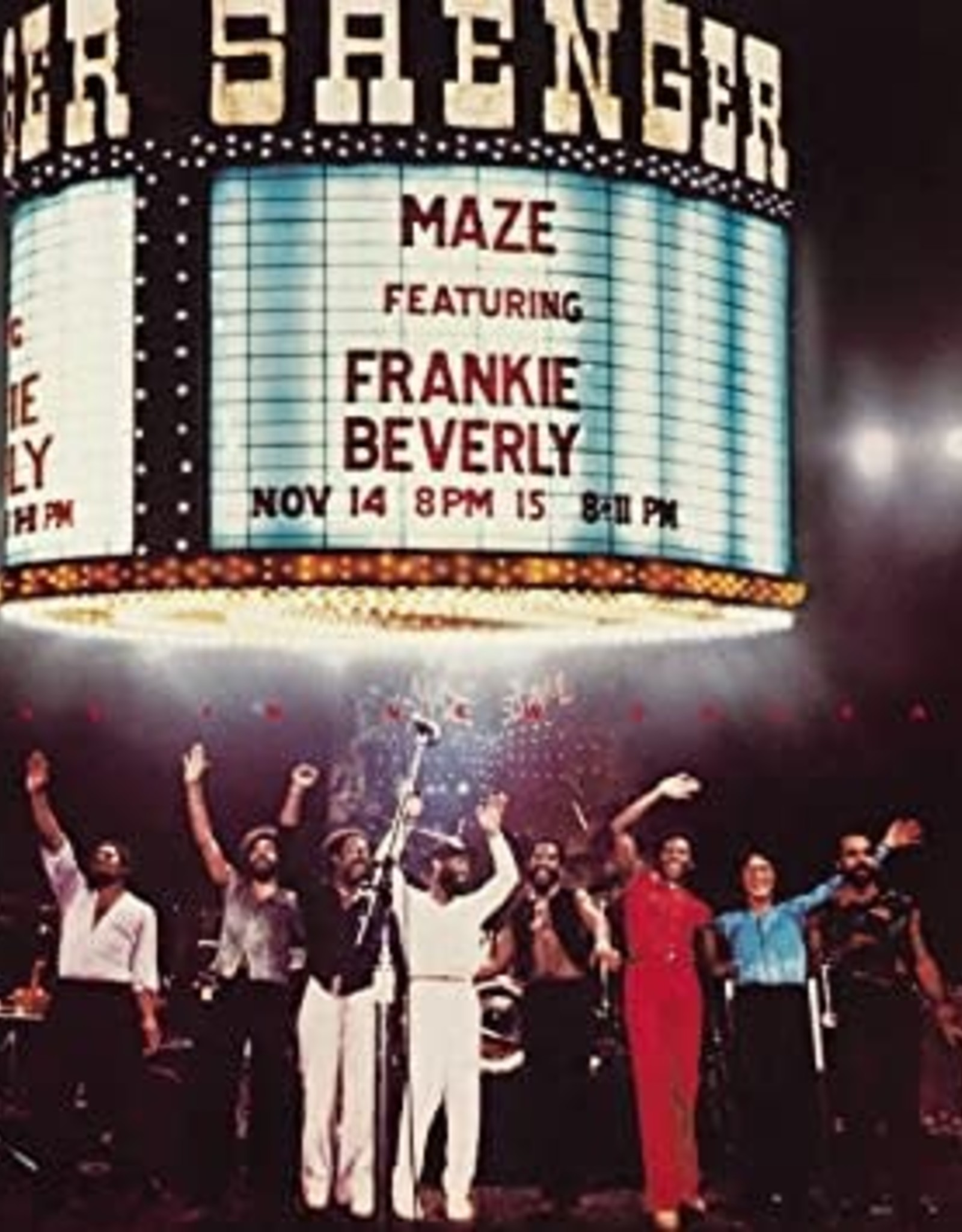 Maze Featuring Frankie Beverly - Live in New Orleans