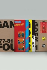 Gang of Four - 77-81 (Deluxe 5*LP Edition, Boxed Set w/Book & Cassette)