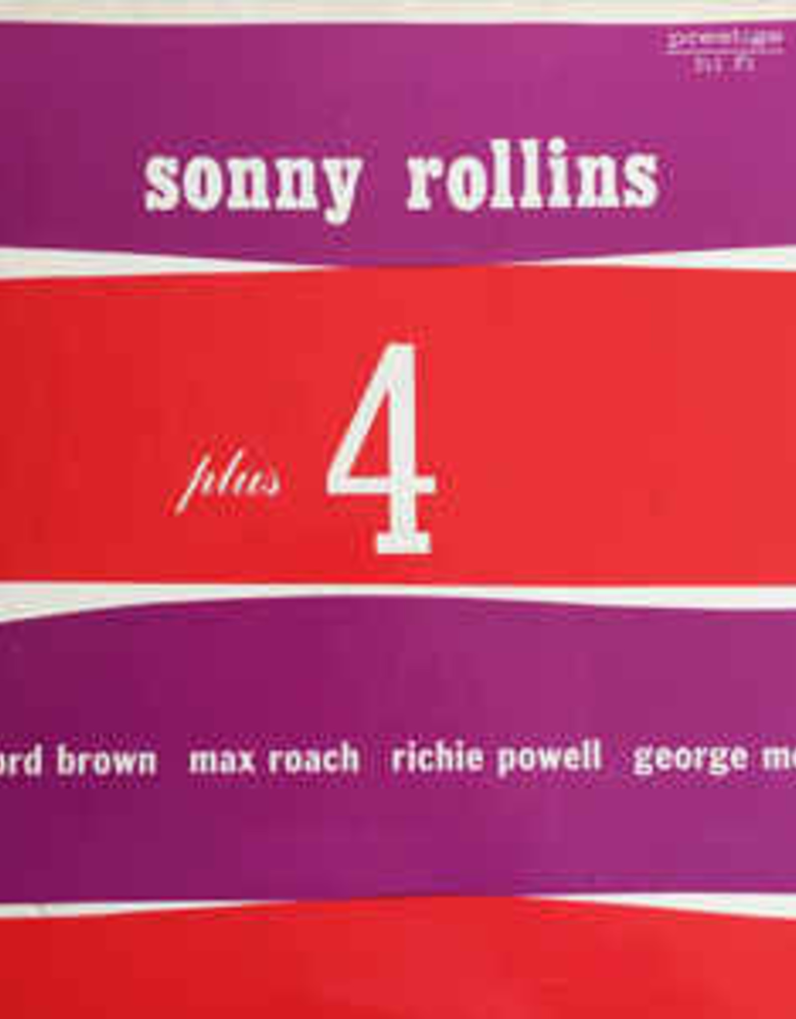 Sonny Rollins - Plus 4 (Clifford Brown / Max Roac