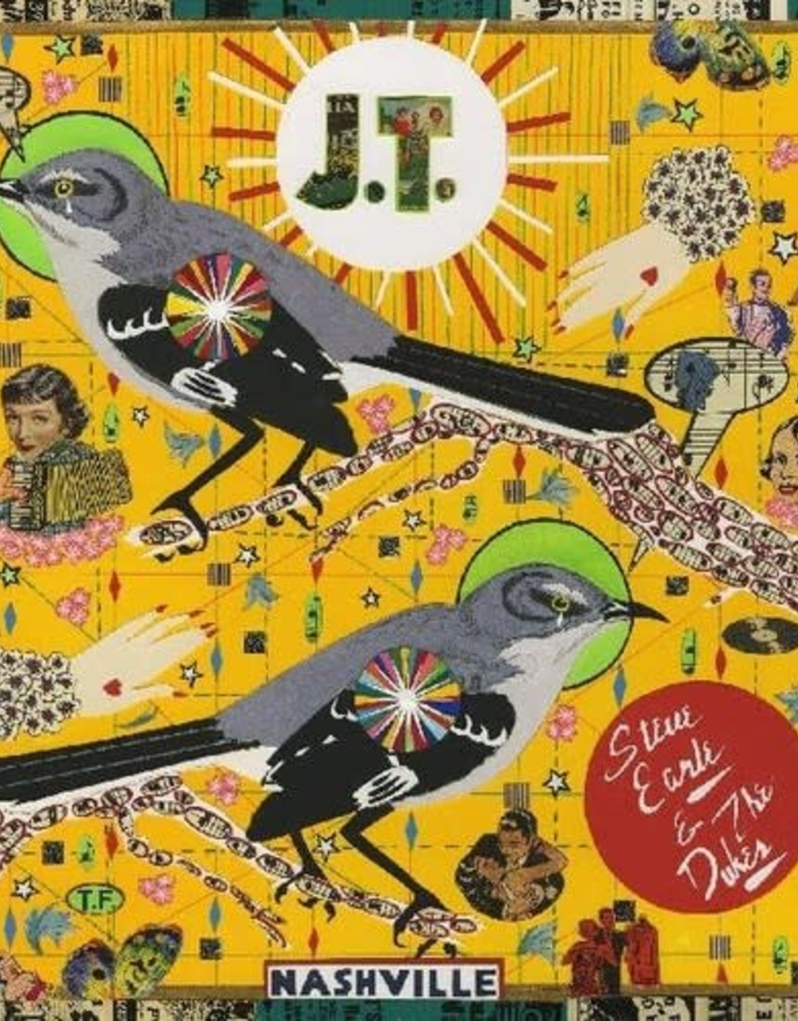 Steve Earle & the Dukes - J.T. (color vinyl)