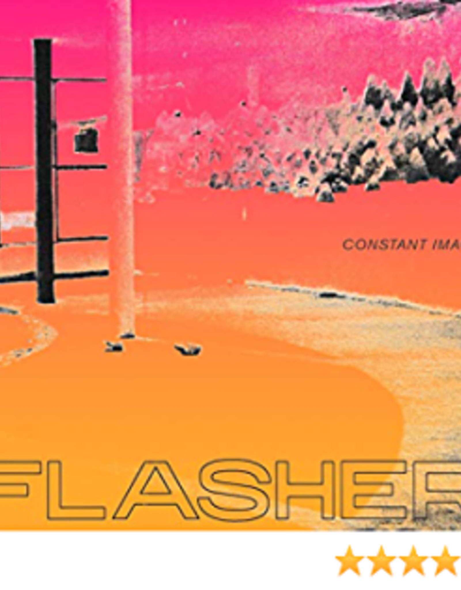 Flasher - Constant Image (Indie Exclusive Clear Vinyl)