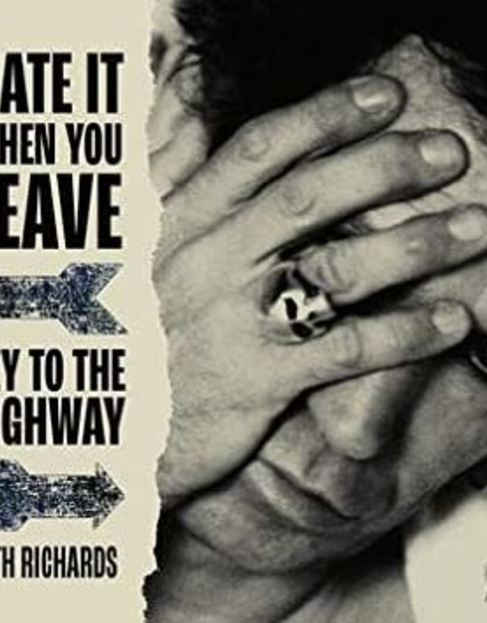 Keith Richards - Hate It When You Leave B/W Key To The Highway (Red Vinyl/Gatefold/Rare B-Sdie)  (RSD 2020)