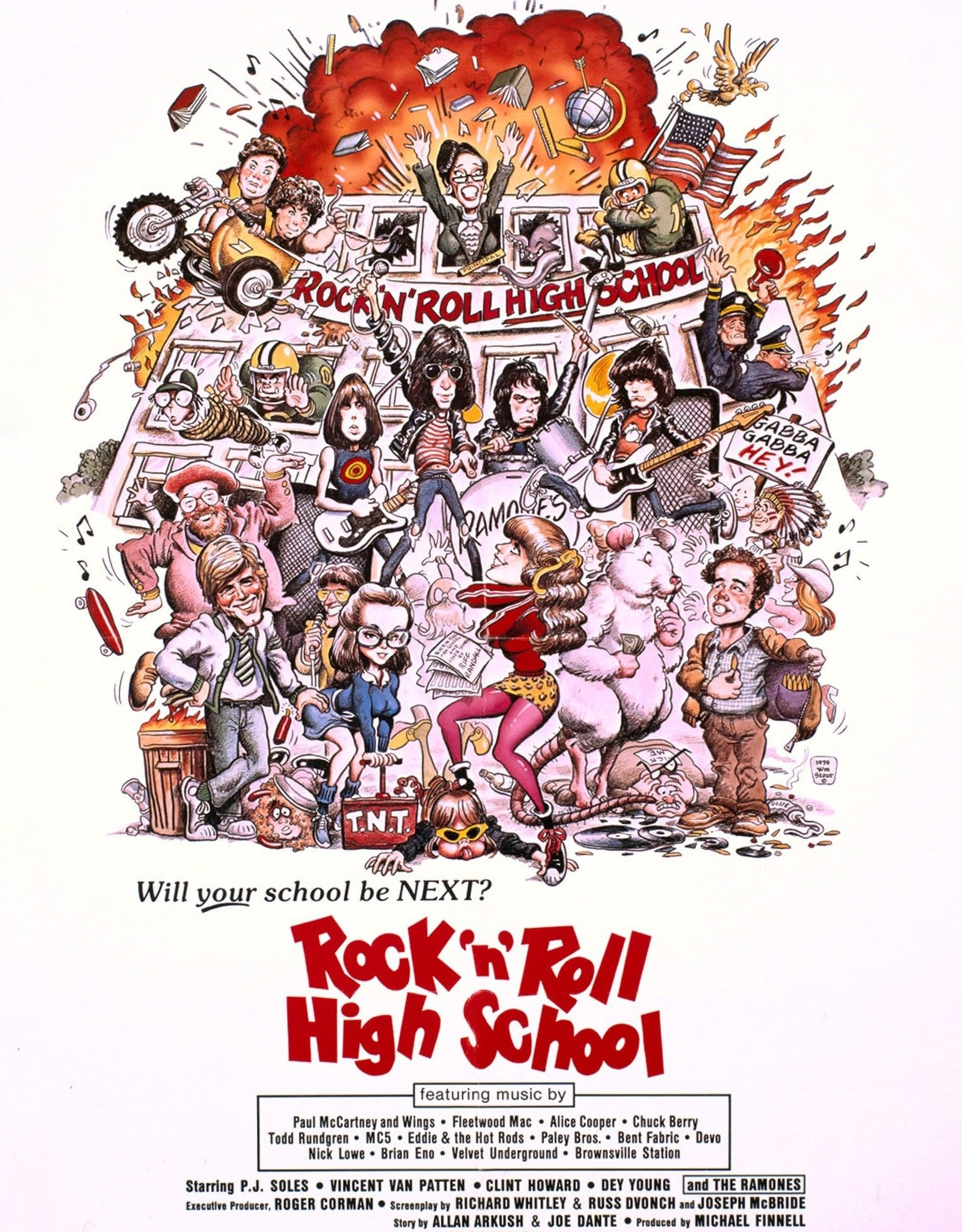 Rock 'N' Roll High School (Mus - Rock N Roll High Sch (Rtb19Ex)