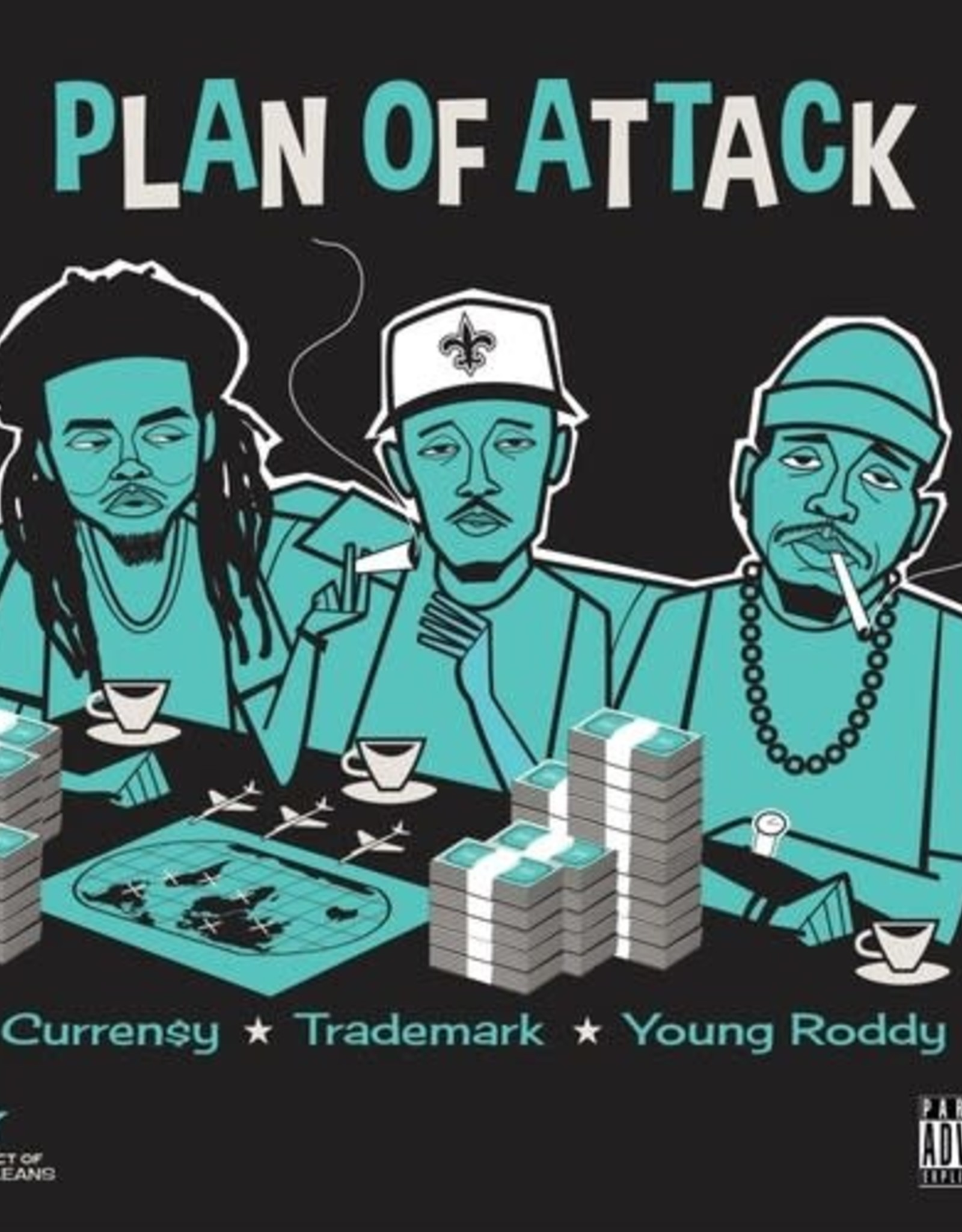 Curren$y, Trademark, Young Roddy - Plan of Attack